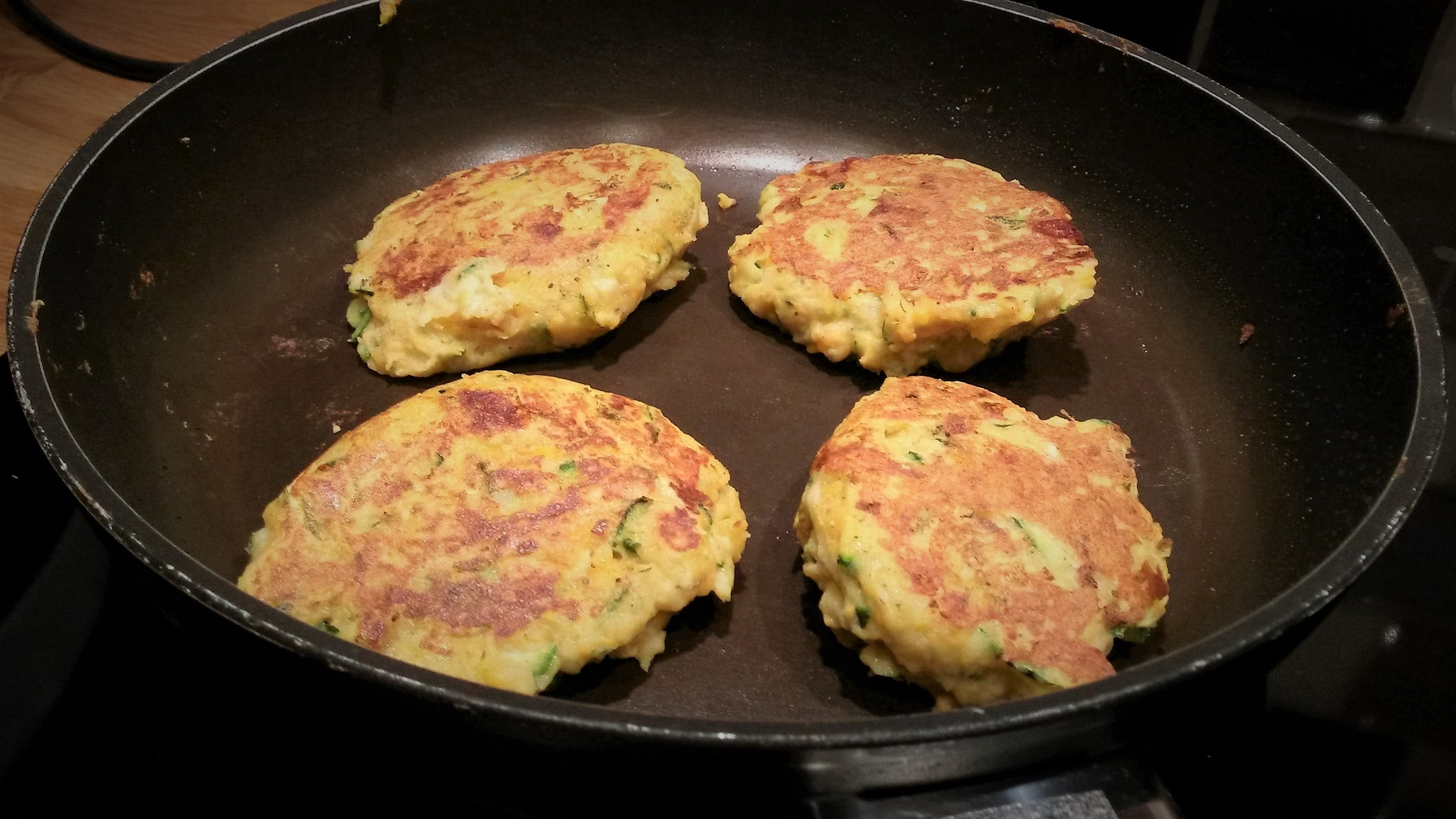 Courgette & Sweet Potato Cakes