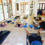 Savasana after a tough morning practice